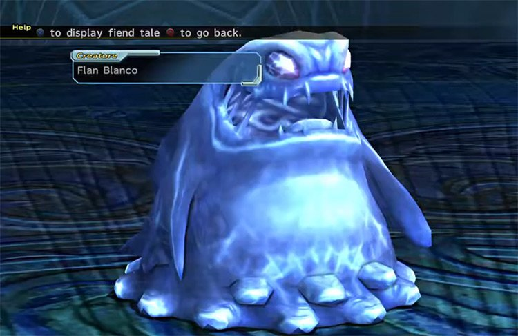 Flan Blanco creature from FFX-2