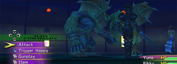Oversouled Gug Creature in FFX-2