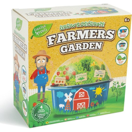 Grow and Decorate Farmers Garden