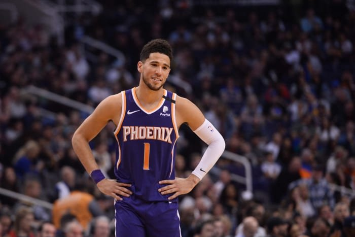 Devin Booker On First-Round Matchup Against Lakers-