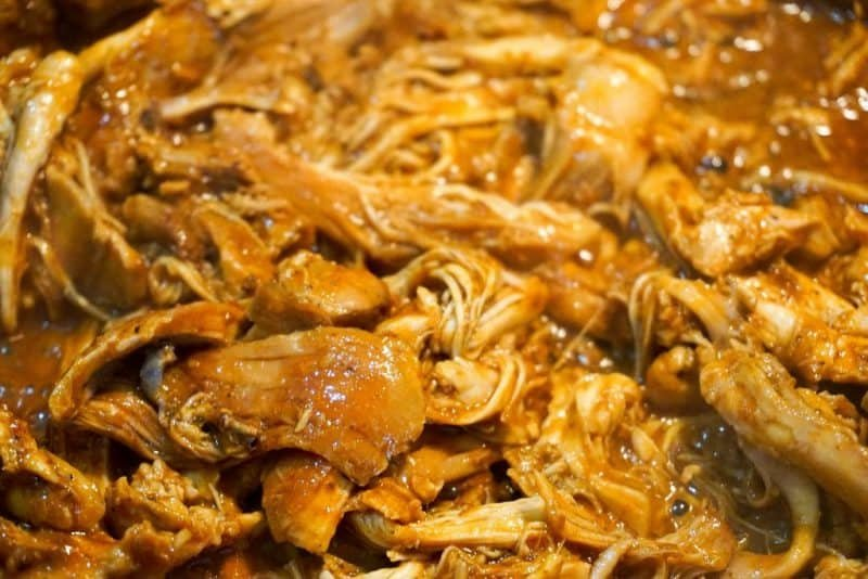 mexican shredded chicken no lime extra close