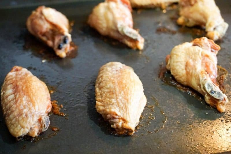 oven chicken wings baked