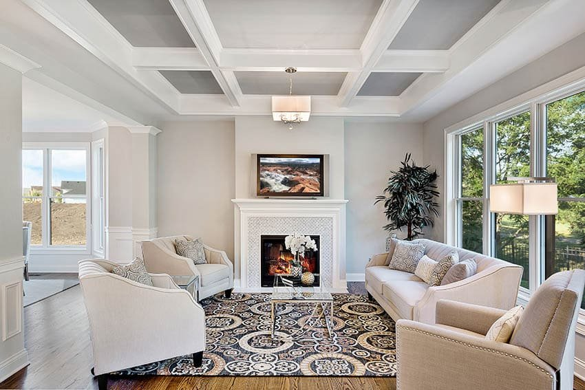 1628277737_410_Coffered-Ceiling-Paint-Ideas