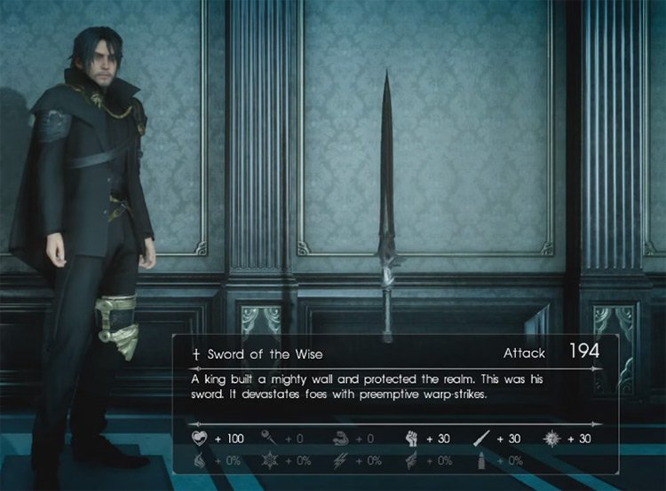 The Best Royal Arms in Final Fantasy XV (All Ranked) –
