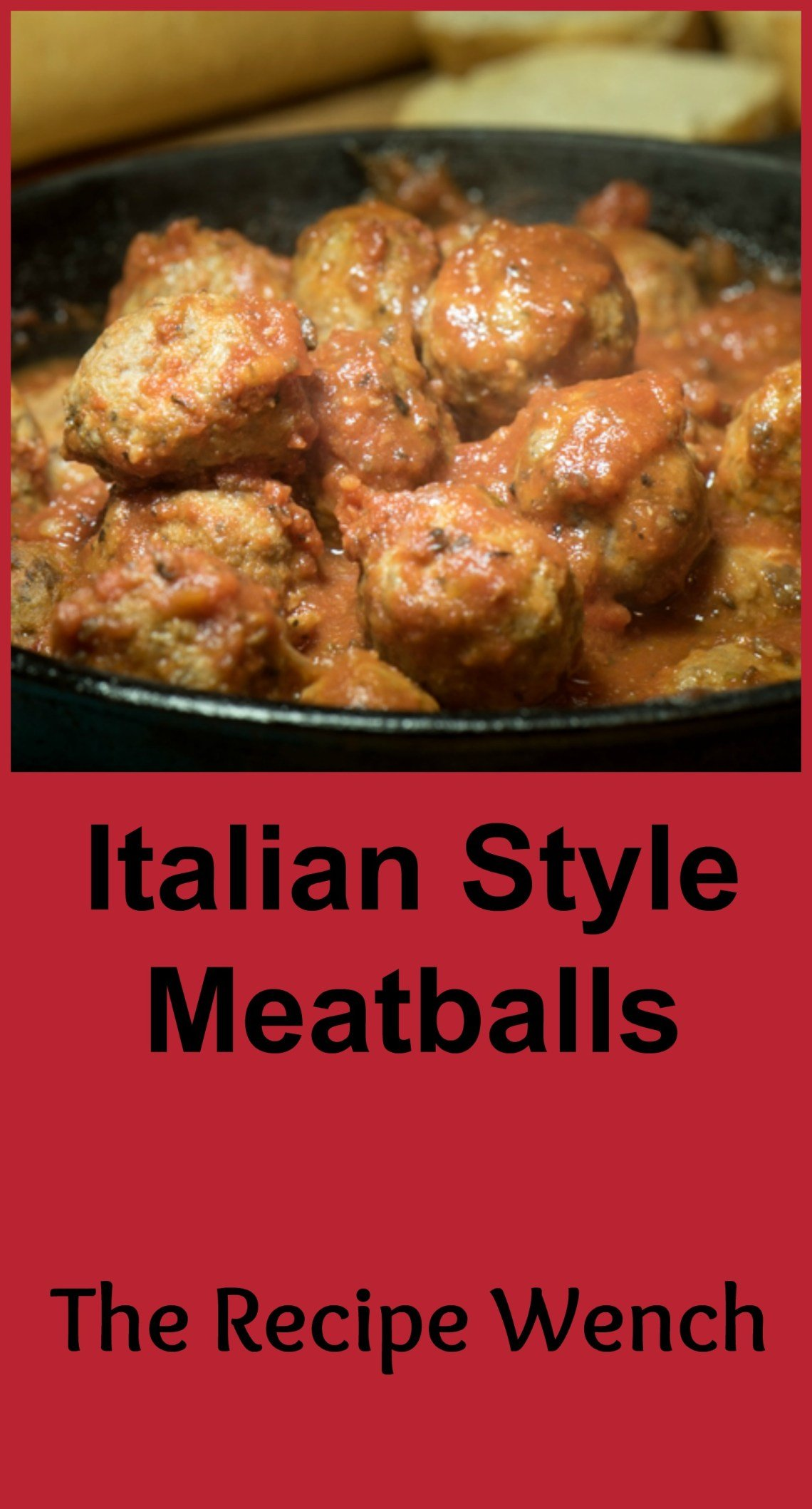 Italian style meatballs - super easy and versatile. Make smaller to serve as appetizers or larger to go into sauce or on a chewy Italian roll with lots of melted mozzarella!  