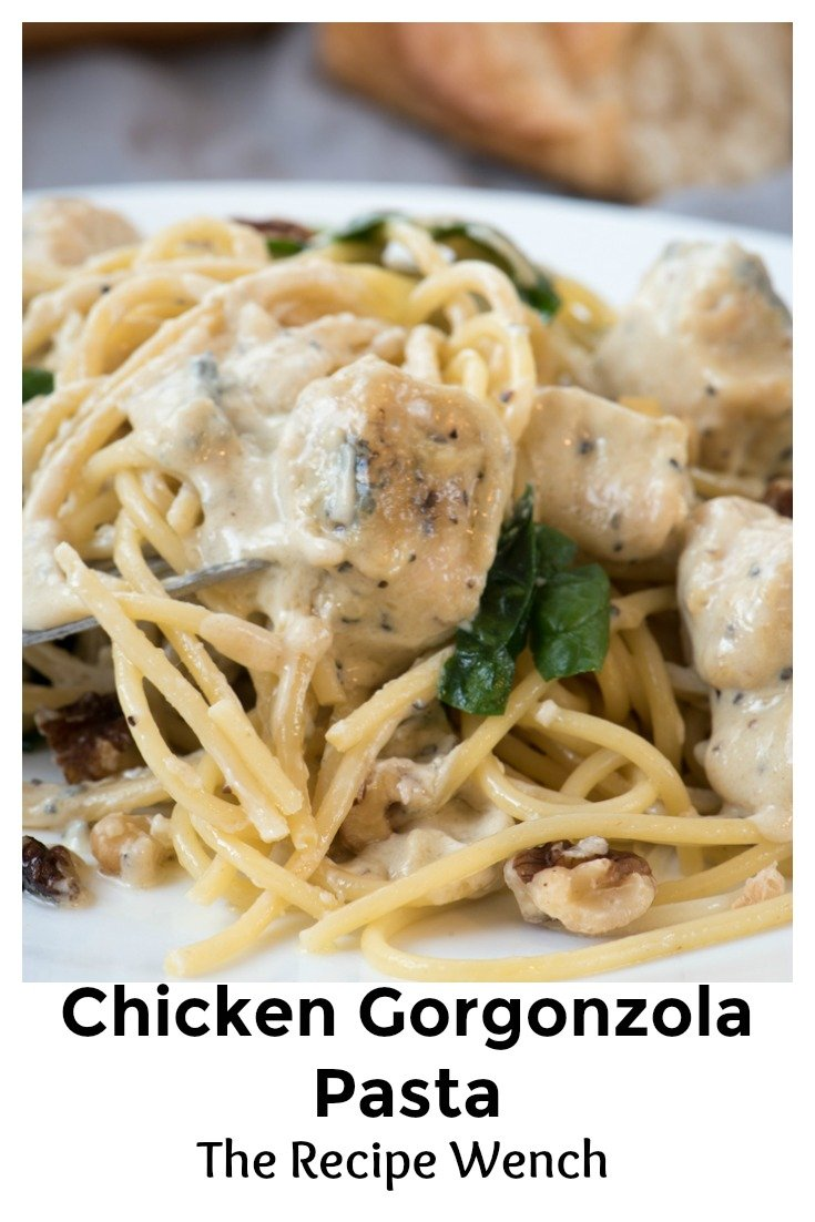I was surprised how easy Creamy Gorgonzola Pasta Sauce was to make! The cheese does all the work. Shhh, it's our secret! |