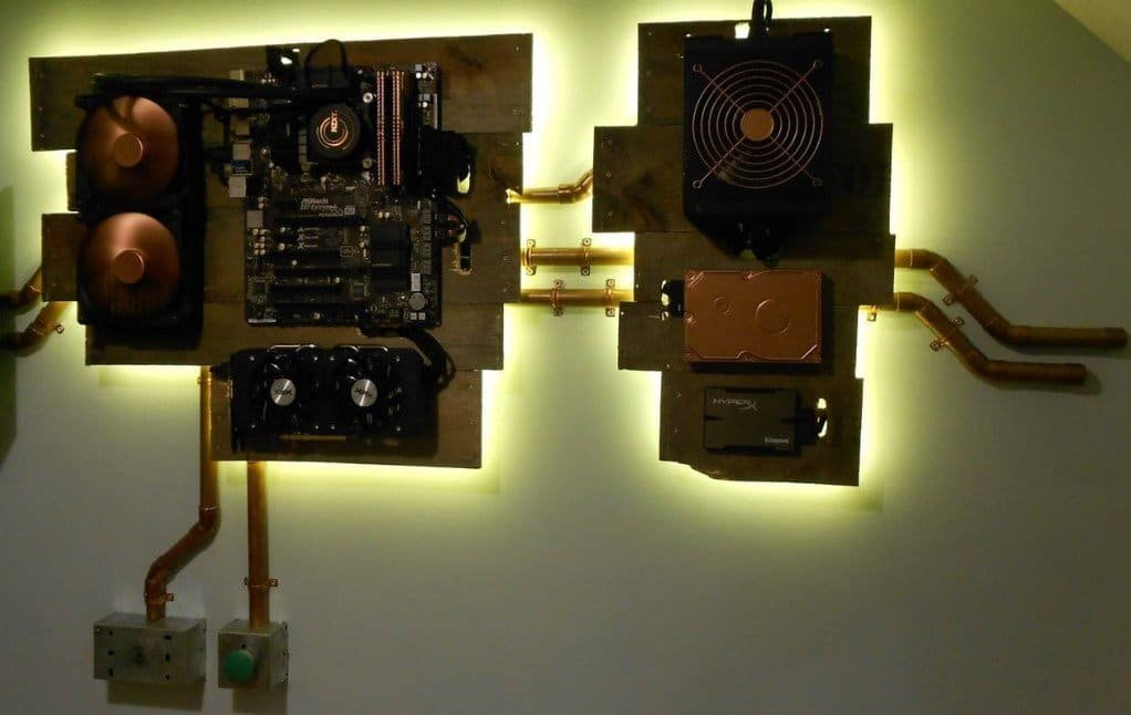 1629679321_325_Wall-Mounted-PC-Build-Step-by-Step-Building-Process