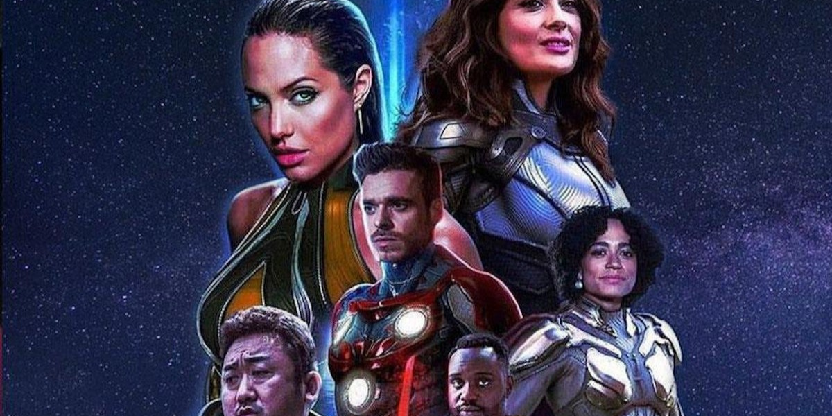 the cast of The Eternals