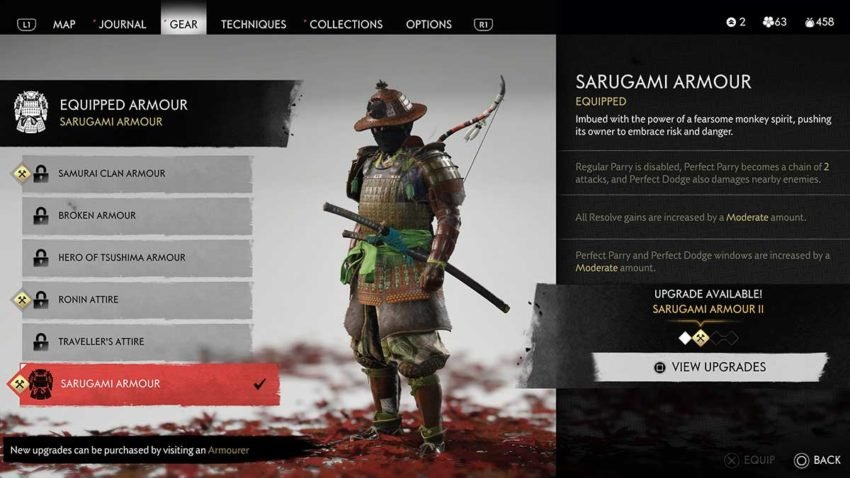 How to complete the Black Hand Riku Mythic Tale and earn the Sarugami Armour set in Ghost of Tsushima
