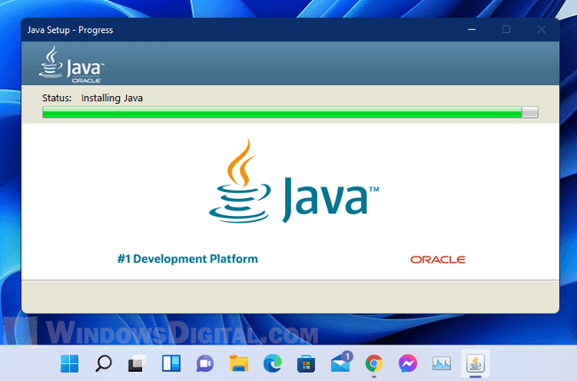 How to Install Java Windows 11