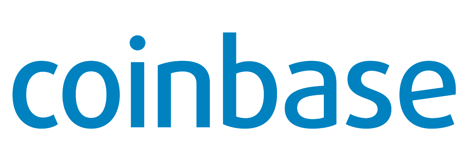 Coinbase cryptocurrency exchange logo