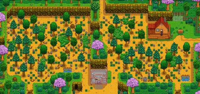 stardew valley - Clear Space on Your Farm