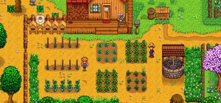 stardew valley - Use Your Seeds to get Started
