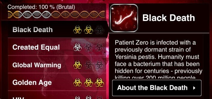 Plague Inc - Pro tip Know What the Different Levels Are in Plague Inc.