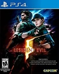 multiplayer ps4 games - Resident Evil 5 - Standard Edition
