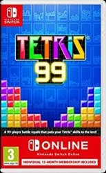 Best Nintendo Switch Multiplayer Games for Kids - Tetris 99 + NSO