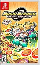 Best Nintendo Switch games for Kids - Sushi Striker The Way of The Sushido
