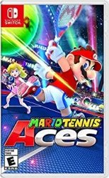 Nintendo Switch Multipayer Games for Kids - Mario Tennis Aces