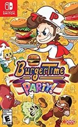 Nintendo Switch Multiplayer games for Kids - BurgerTime Party!