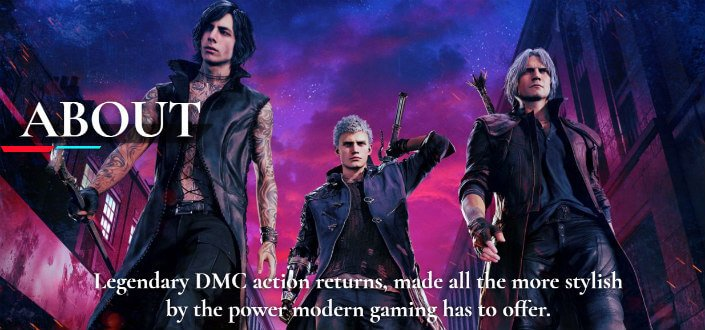 devil may cry 5 - step 1
