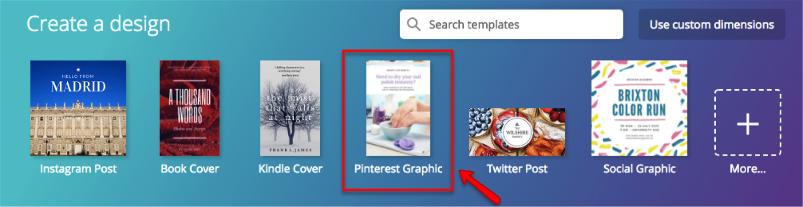how to create your first pin on Pinterest