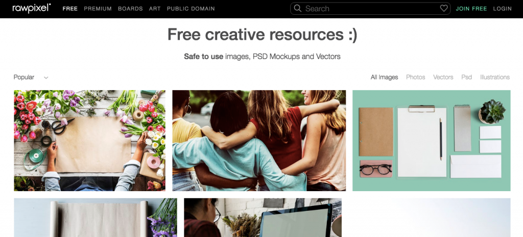 best sites to get free stock images