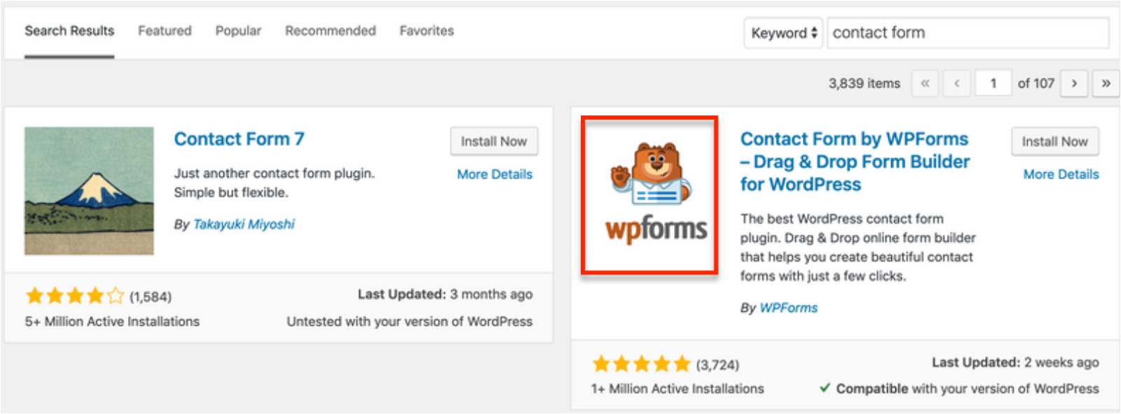 How to create Conversational forms by WPForms. thinkmaverick