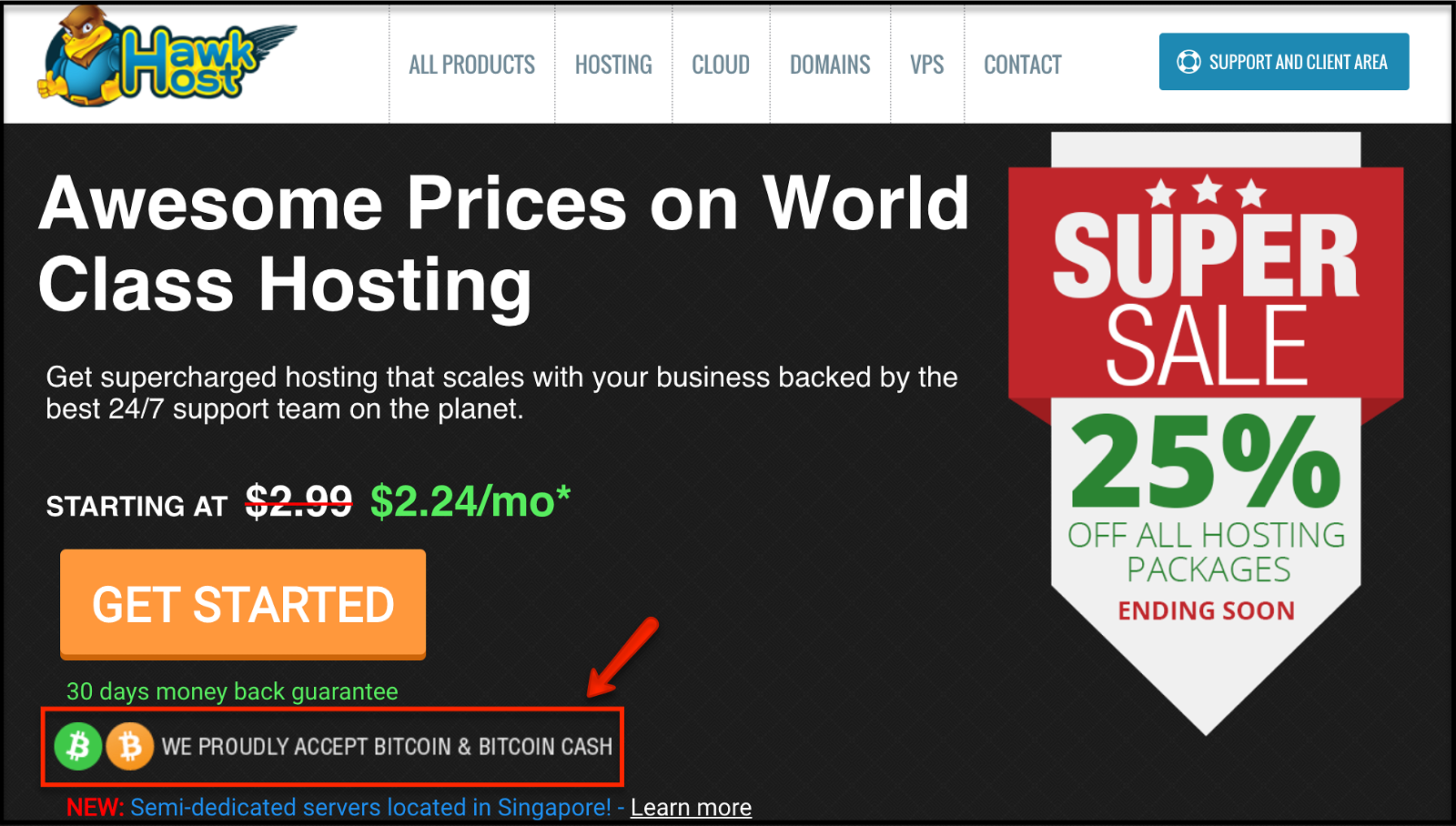 top web hosting services that accept bitcoin and altcoins. Thinkmaverick