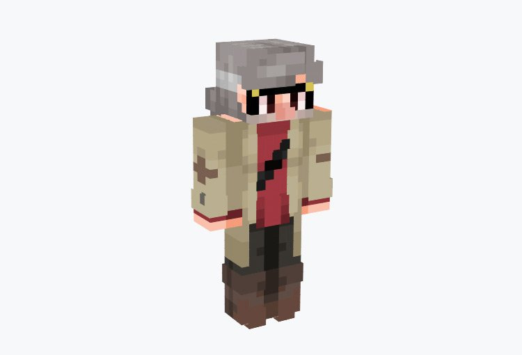 Uncle Stanford from Gravity Falls / Minecraft Skin