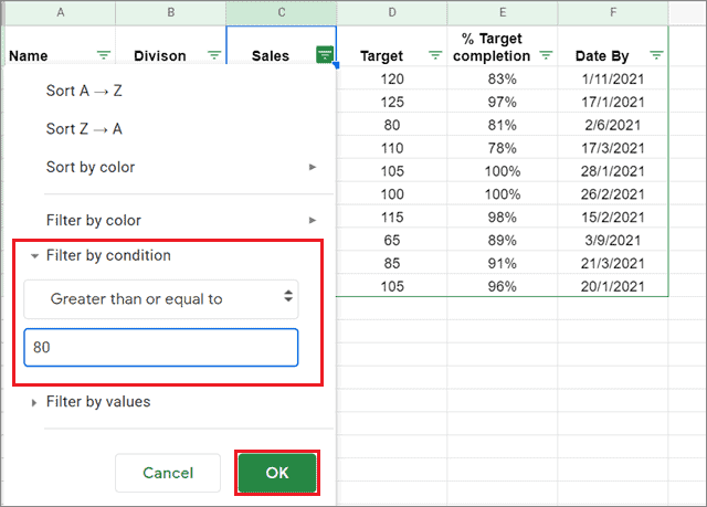 1632061827_141_How-To-Filter-In-Google-Sheets-And-Organize-Data
