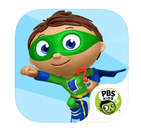 super why! - Best iPad Apps for Toddlers