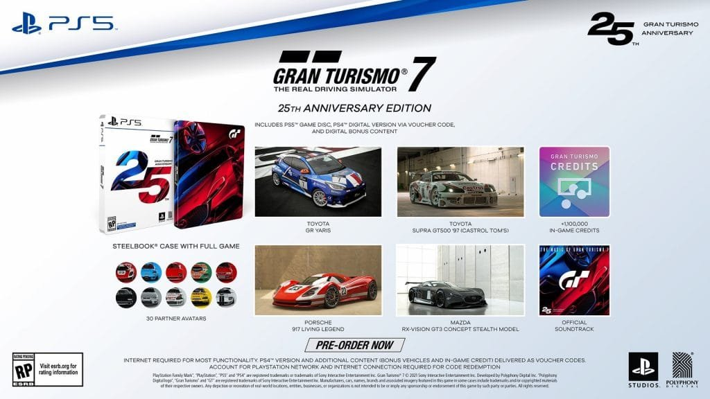 1632252029_372_Gran-Turismo-7s-25th-Anniversary-Edition-and-Pre-Order-Items-Detailed