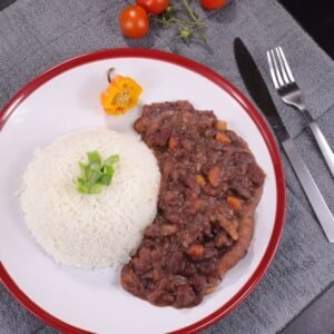Jamaican Stew peas without meat