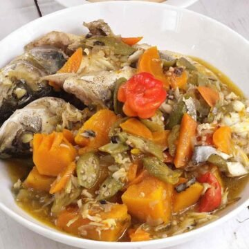 Jamaican steamed fish recipe