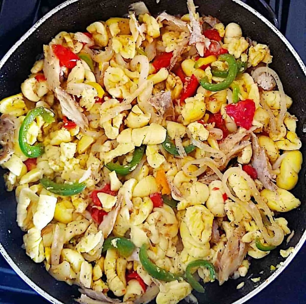 Cooked ackee