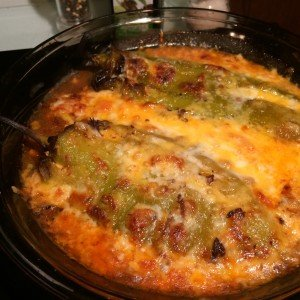 Cheese Baked Chili Rellanos Recipe for HCG Phase 3