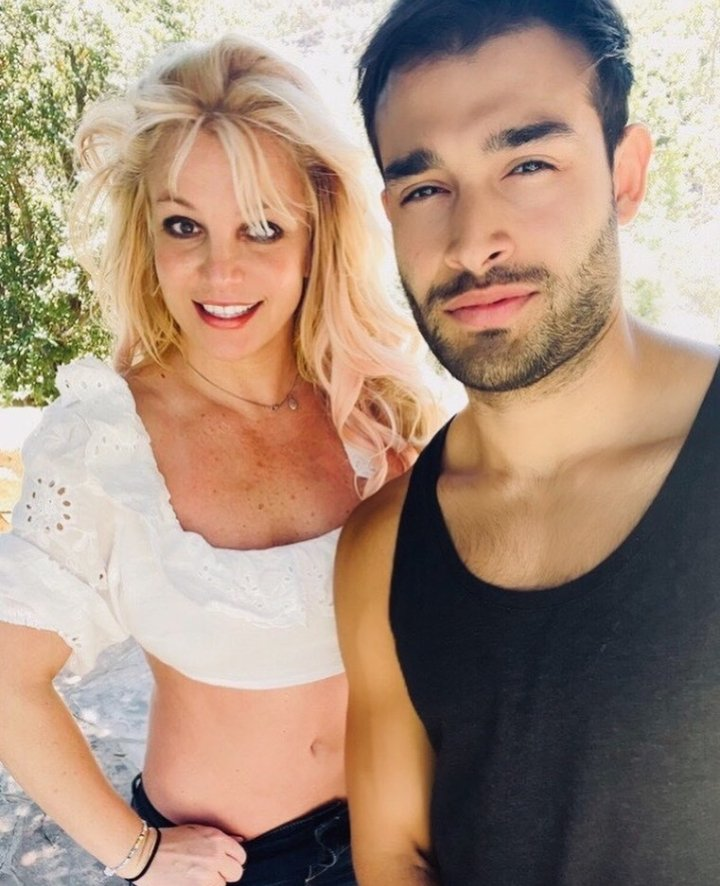 Britney Spears leading a life with her loved one