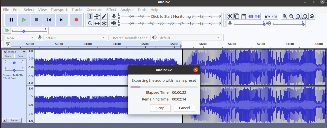 Joining Audio Files