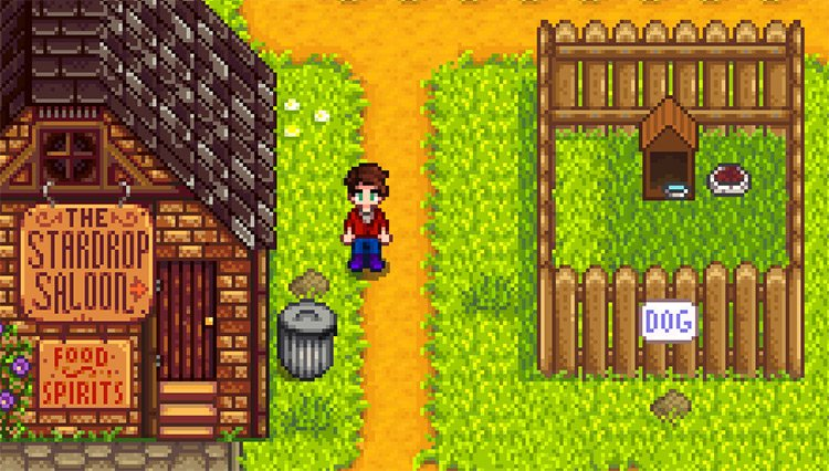 A More Happy Dog House Mod for Stardew Valley