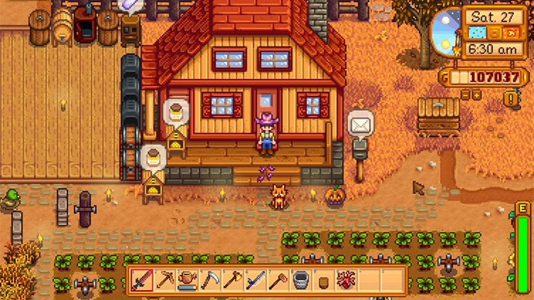 Cat Gifts Mod for Stardew Valley