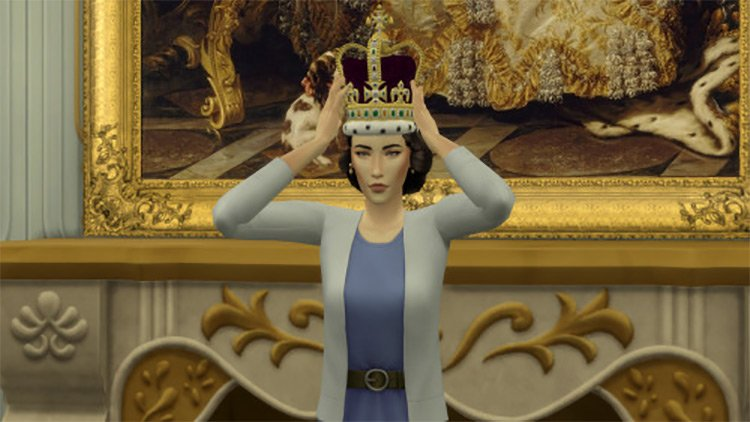 The Crown Inspired Posepack by threethousandplumbobs for Sims 4