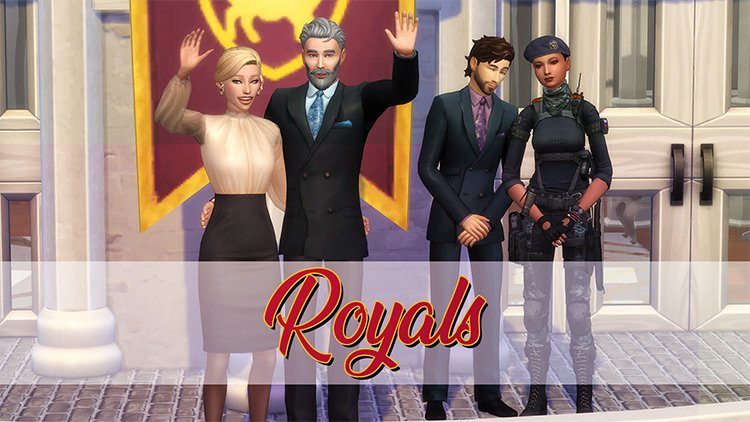 Royals – A Sims 4 Posepack by Quiddity Jones Sims 4 CC