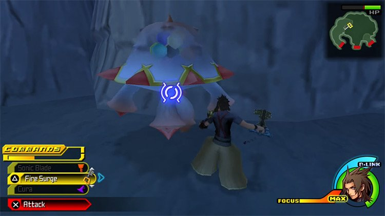Blobmob in the Skull Cave with Terra / KH BbS