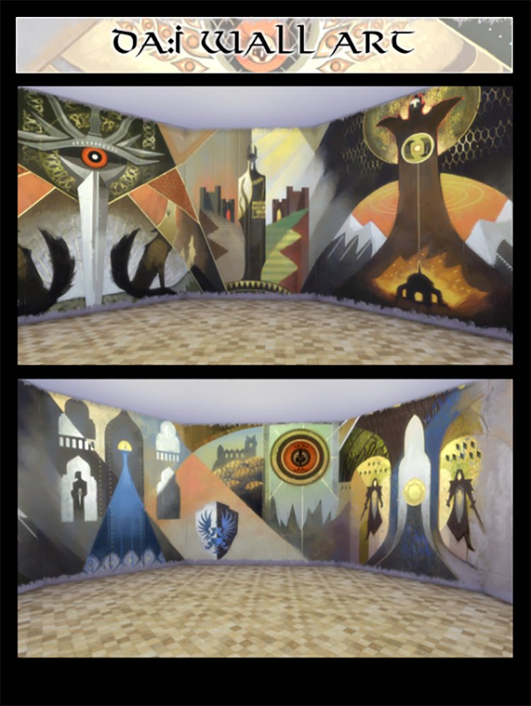 DAI Wall Art for The Sims 4
