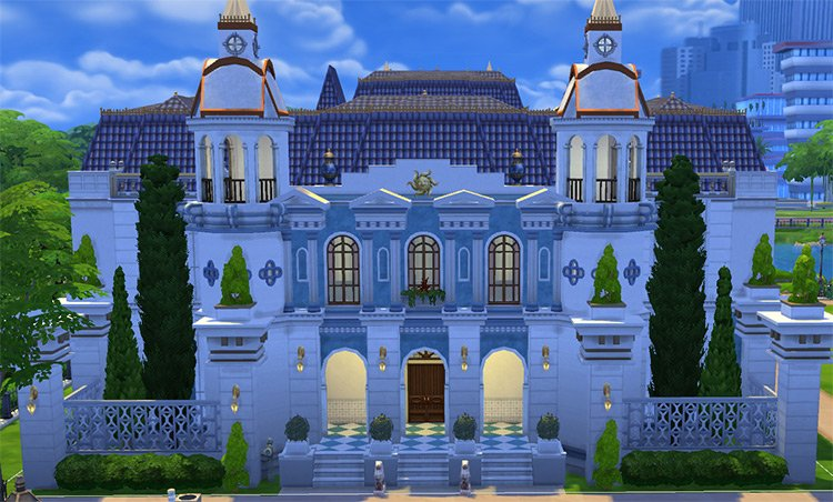 Journey to Orlais Lot Series for The Sims 4