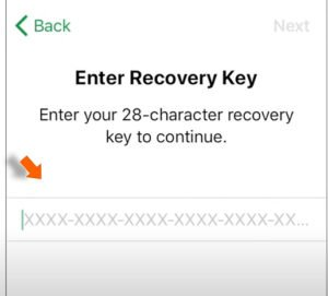 Enter-Recovery-Key