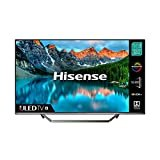 HISENSE 50U7QFTUK Quantum Series 50-inch 4K UHD HDR Smart TV with Freeview play, and Alexa Built-in (2020 series) , Silver