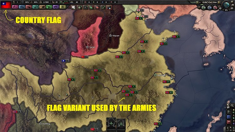 Realistic & Immersive War Flags - Uncensored Edition HOI4 Mod