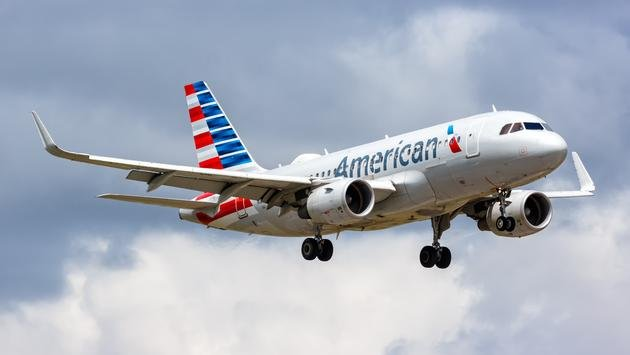 American Airlines Airbus A319.