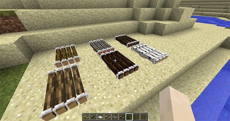 Just a Raft Mod for Minecraft